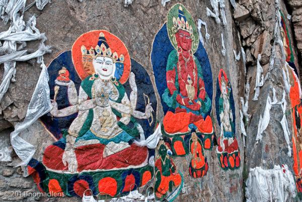 Netang Buddha, U, Tibet