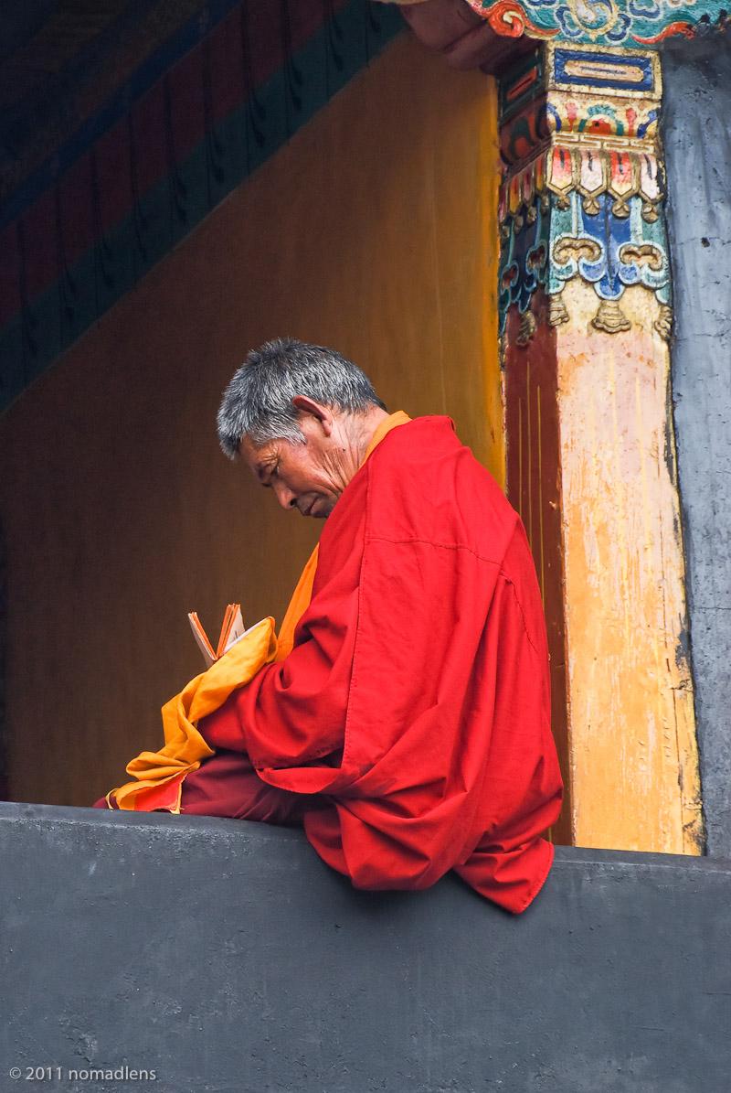 Monk, Jokhang, Lhasa, Tibet