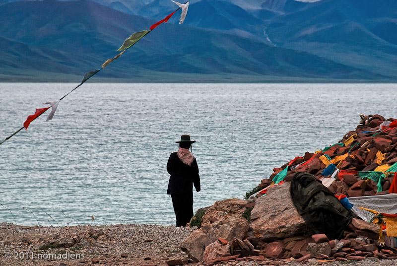 Pilgrim, Namtso, U, Tibet