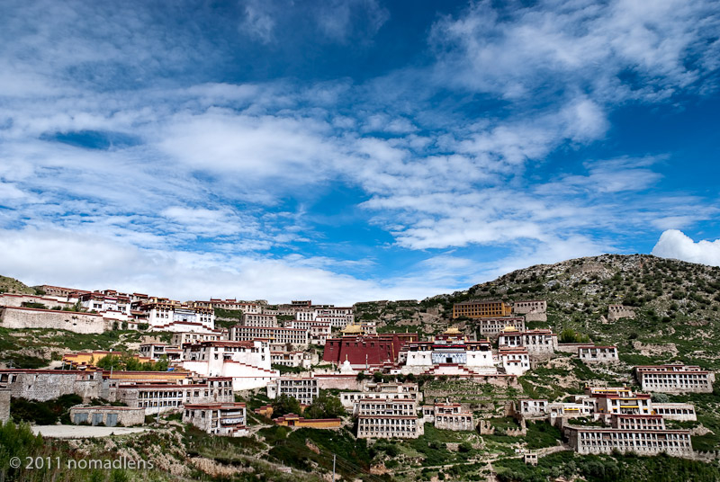 Ganden Monastery, U, Tibet