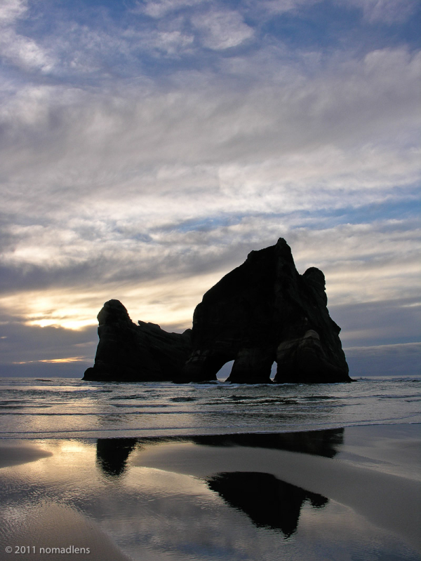 Wharariki Beach, Marlborough, NZ