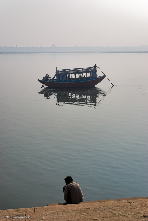 By the Ganges, Varanasi, UP, India