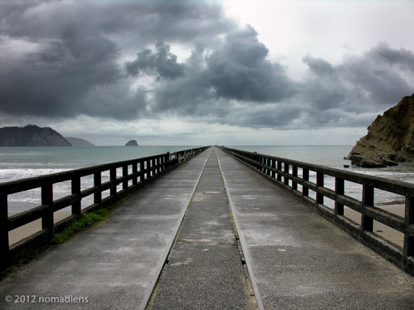 Tolaga Bay Pier, East Cape, NZ