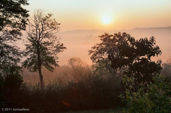 Dawn, Cozzano, Umbria, Italy