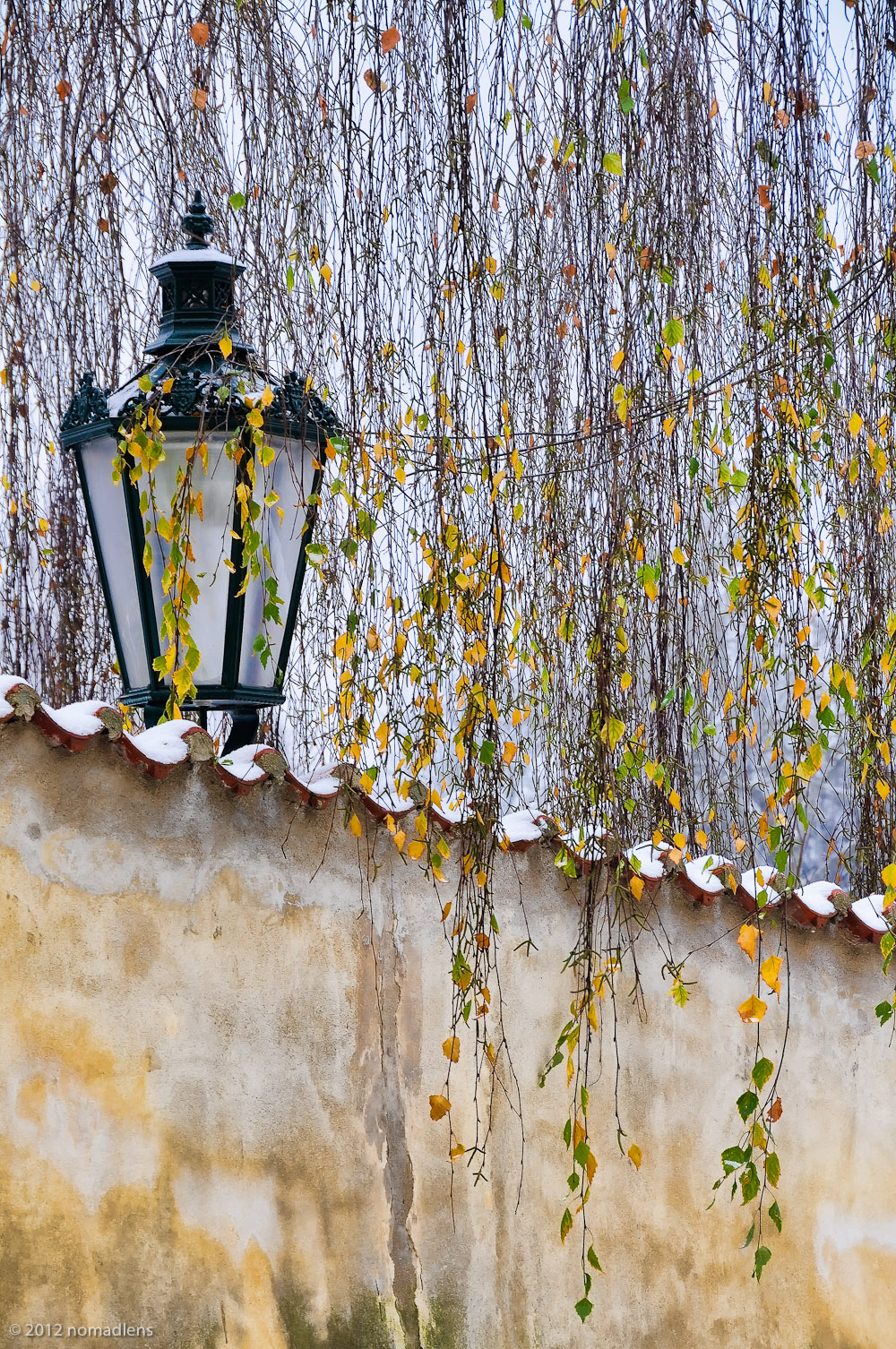 Lamp, Novy Svet, Prague, Czech Republic