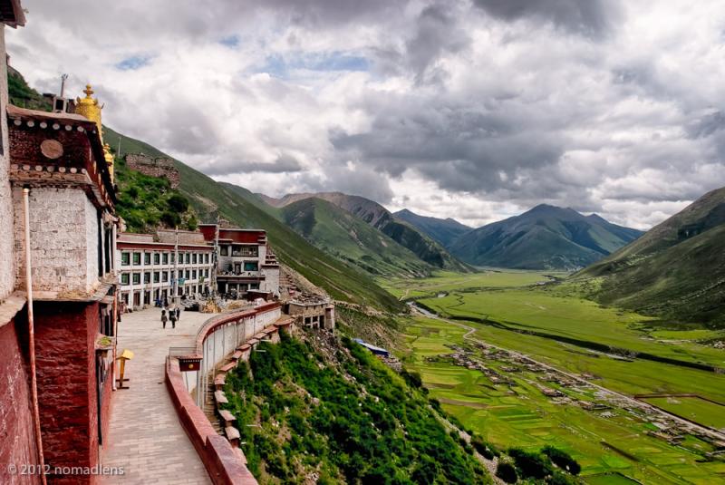 Drigung Til Monastery, U, Tibet