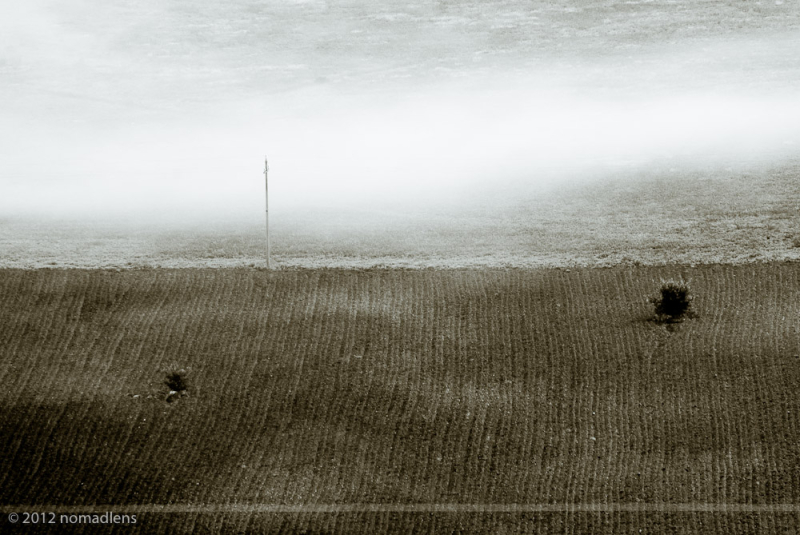 Field, Tirino Valley, Abruzzo, Italy