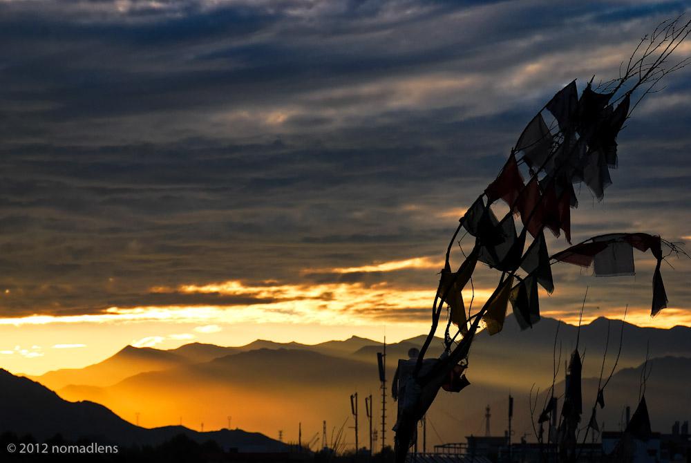 Dawn, Lhasa, U, Tibet