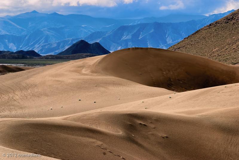 Sand Dunes, U, Tibet