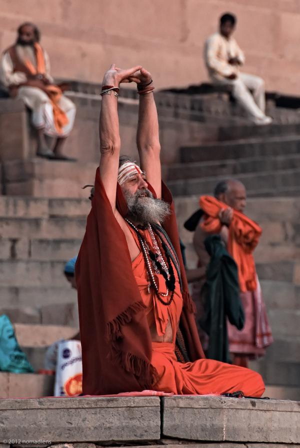 Saddhu, Varanasi, UP, India