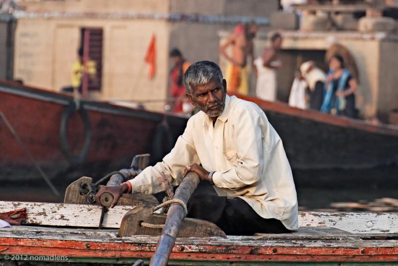 Boatman, Varanasi, UP, India