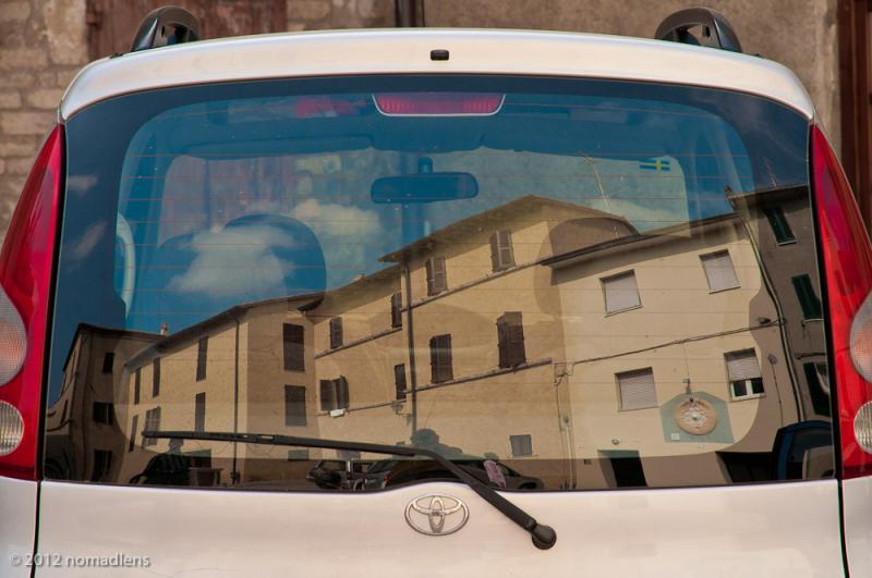 Reflections, Mugnano, Umbria, Italy