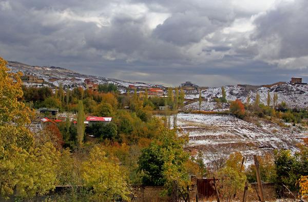 برف پاییـزی