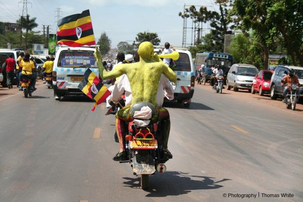 Uganda Cranes We Go