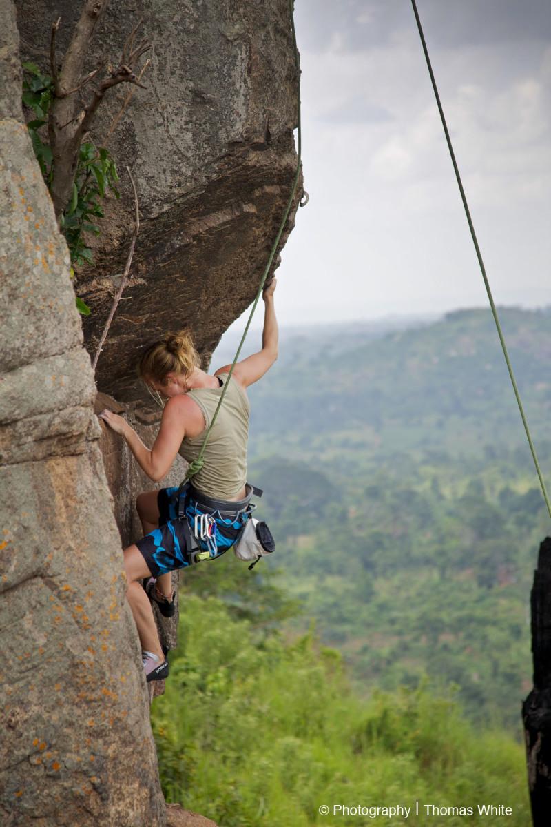 Rock Climbing at Luwazi Rock Uganda