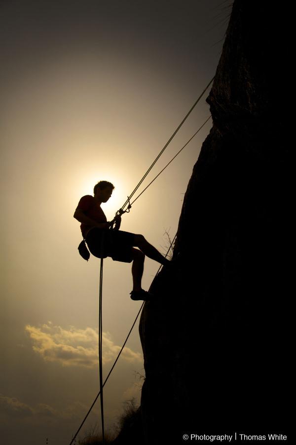 Rock Climbing at Luwazi Rock Uganda II