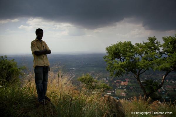 On top of Tororo Rock I