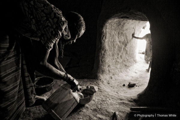 Kotido, Karamoja XI - Inside a local home.