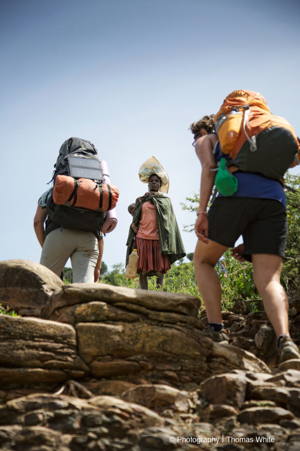 Hike up Mt Moroto V