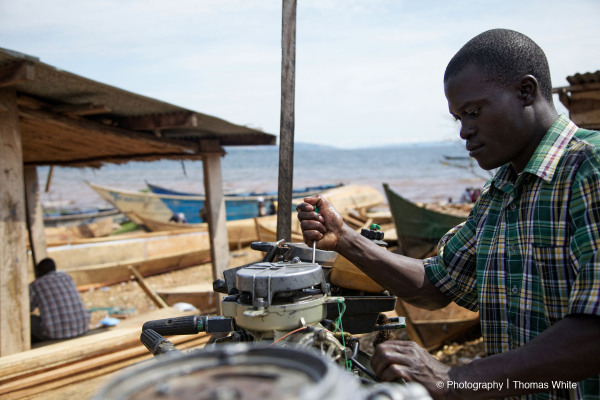 Fixing Fishing Boat Engines