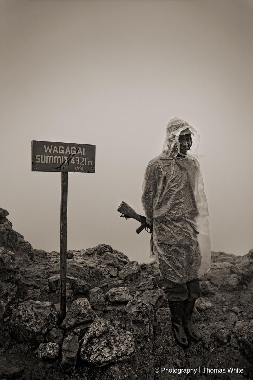 The peak of Mt Elgon.