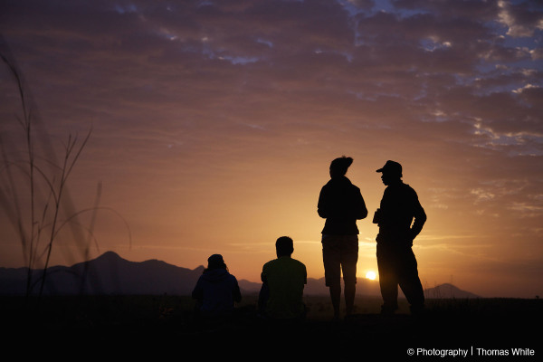 Sunrise over Mt Morongole