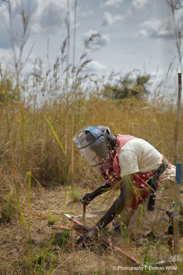 Clearing landmines in South Sudan IV