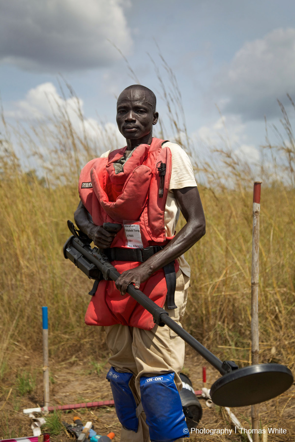 Clearing landmines in South Sudan V