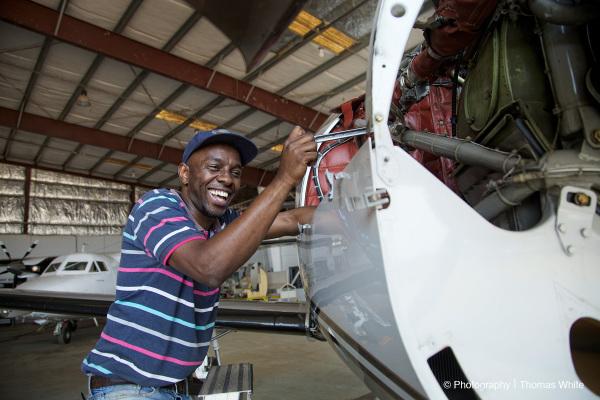 Entebbe Aeroplane Maintenance I