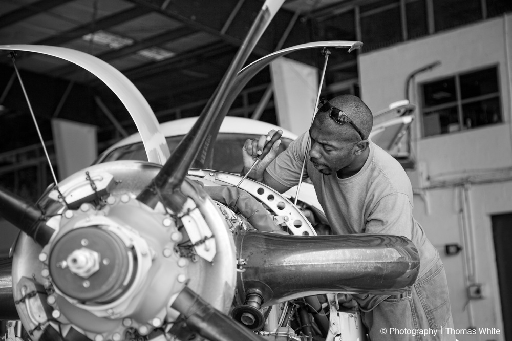 Entebbe Aeroplane Maintenance III