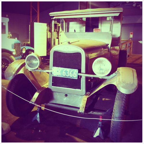 A nice old car at Motat