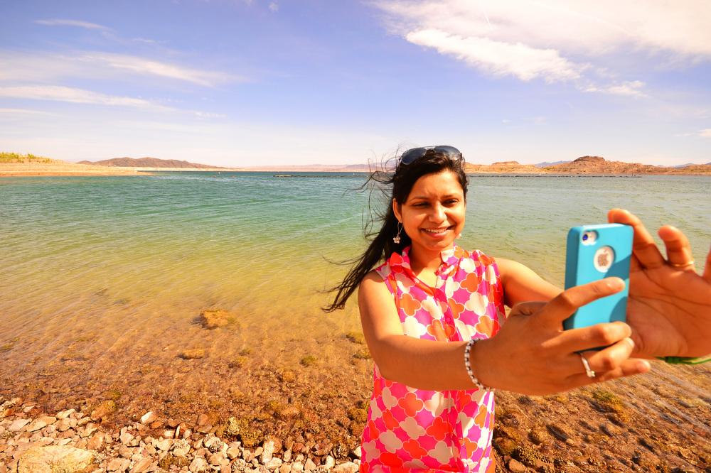 Selfie at Lake Mead