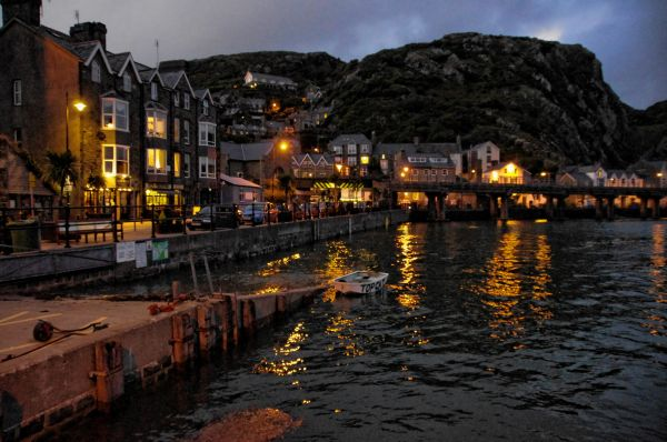 Harbour lights Barmouth