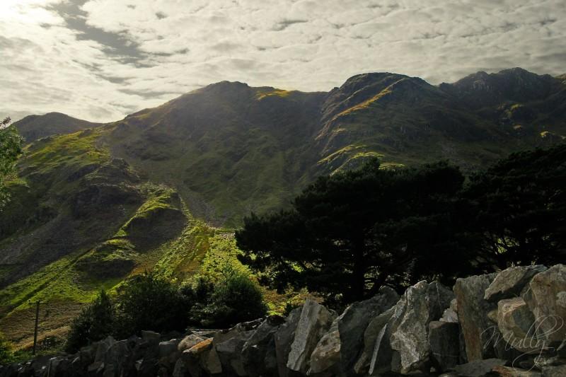 snowdonia mountains wales