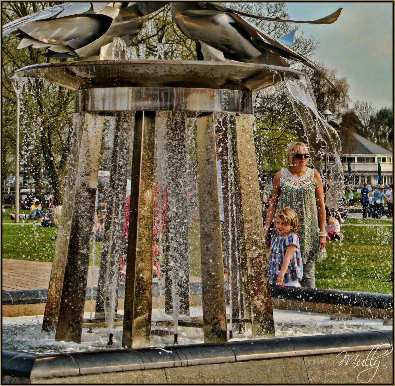 Statford park fountain
