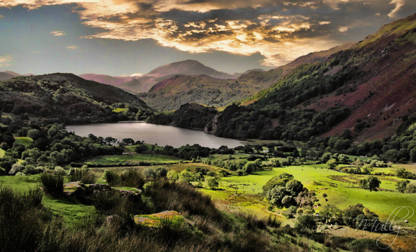 landscape mountains snowdonia wales