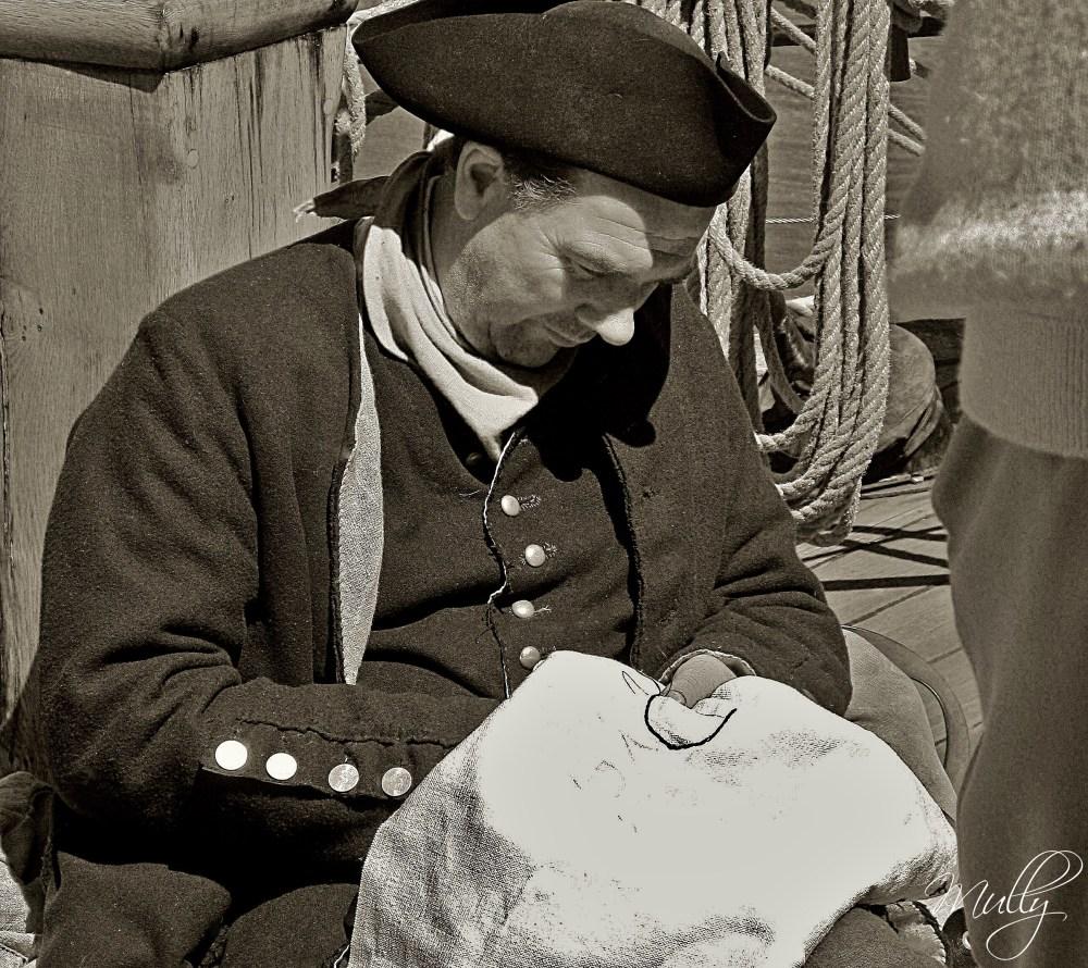 Crew member from Tall Ships Festival