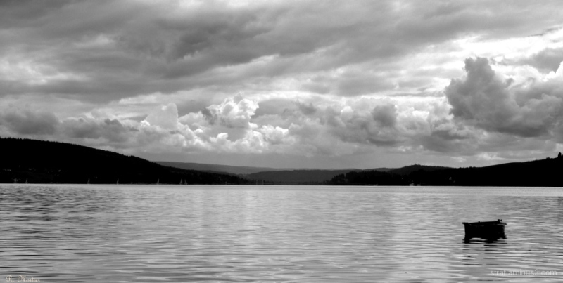 Entre lac et ciel - Between lake and sky