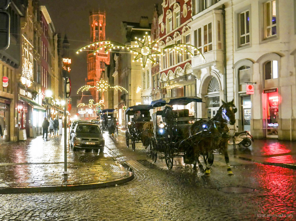 Cavalcade à Bruges.