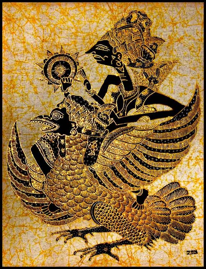 Batik Design Golden Batik - Art &am...