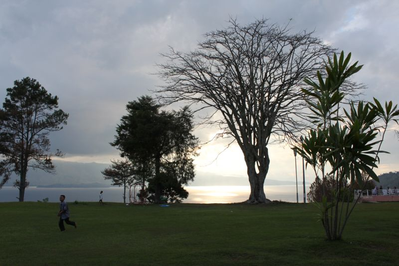 Dusk At Toba Lake
