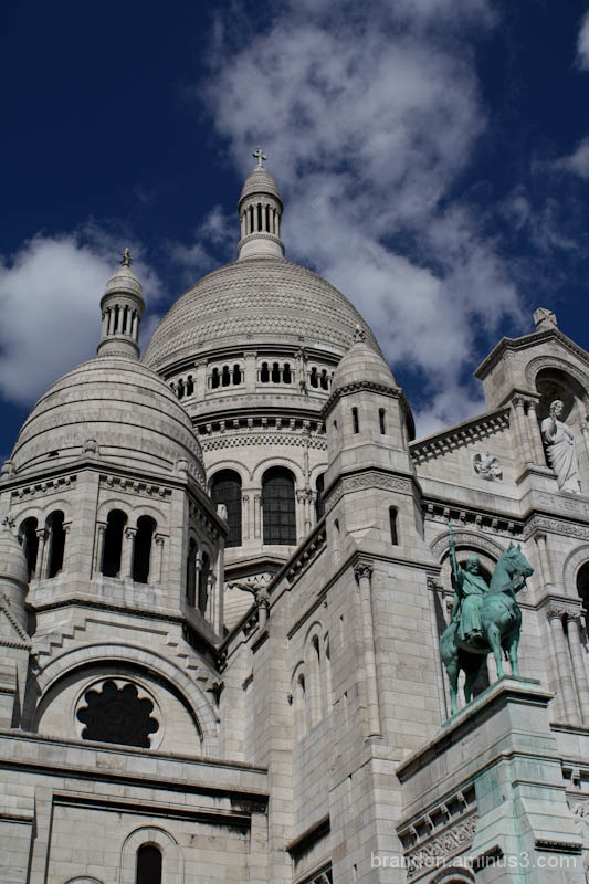 Close up of Sacré-Coeur