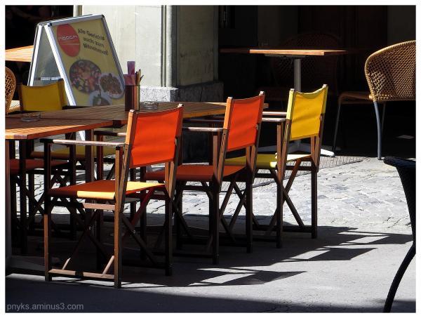 Bern (6): { Orange and yellow/ Happy hour }