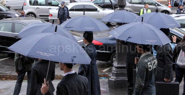 Parapluies...