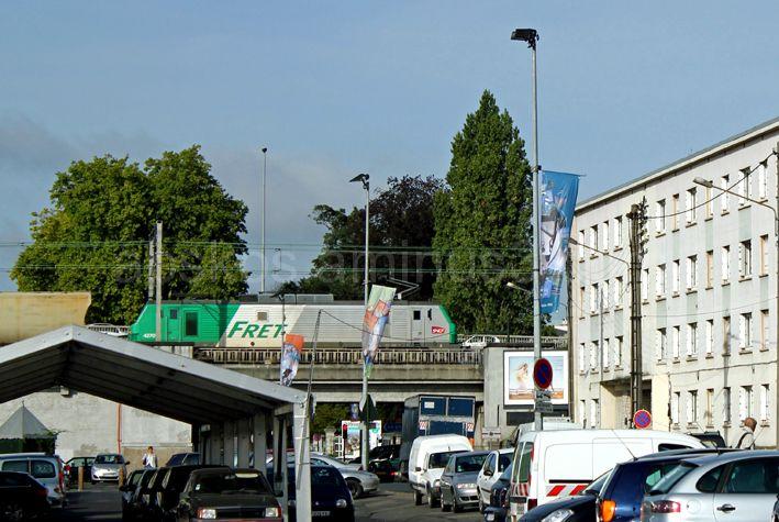 Orléans, paysage urbain.