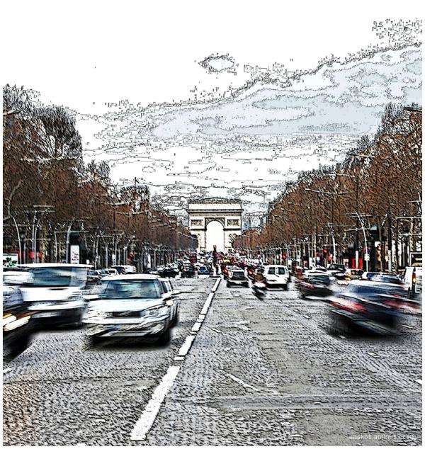 Aux Champs-Elysées...