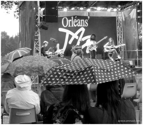Jazz'Orléans, la pluie vient swinguer...