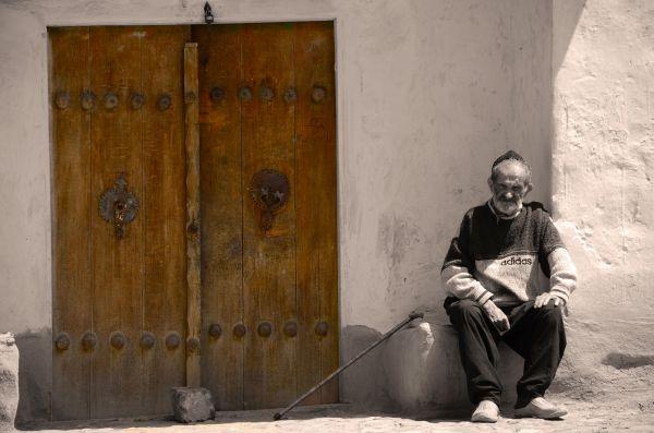 an old village in Iran