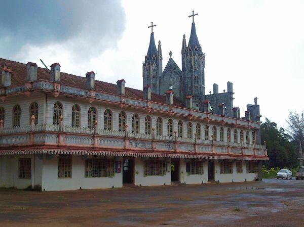 Shrine to St. Lawrence at Attur, Karnataka, India