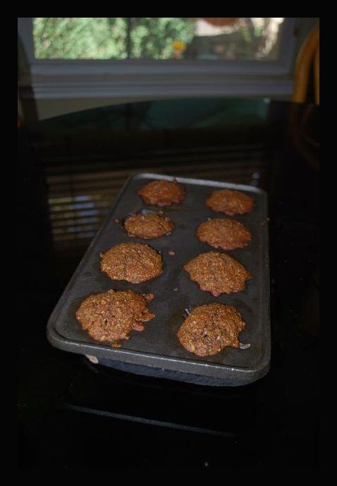 Zucchini Spelt Muffins